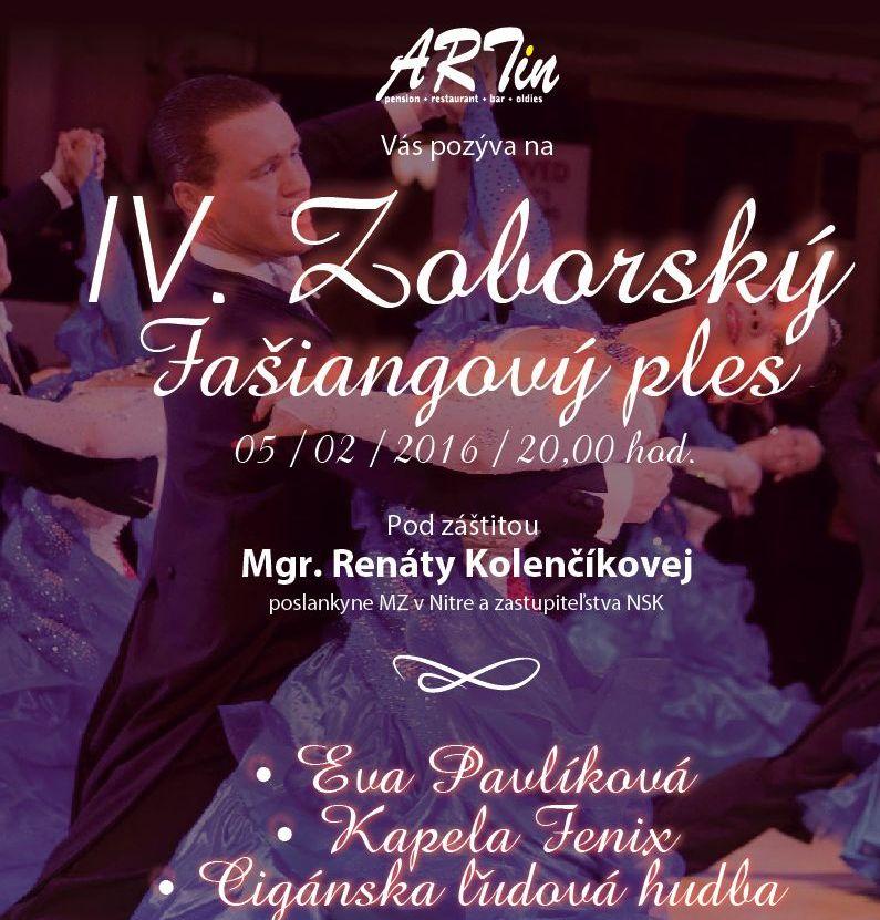 bee17036a IV. Zoborský fašiangový ples - Kam v meste | moja Nitra