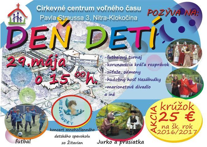 Oslava MDD a zaujímavé podujatie SEN O RODI - Kam v meste  a1c540c884f