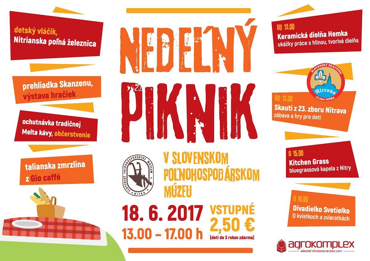 Nedeľný piknik v Slovenskom poľnohospodárs - Kam v meste  c8031207848