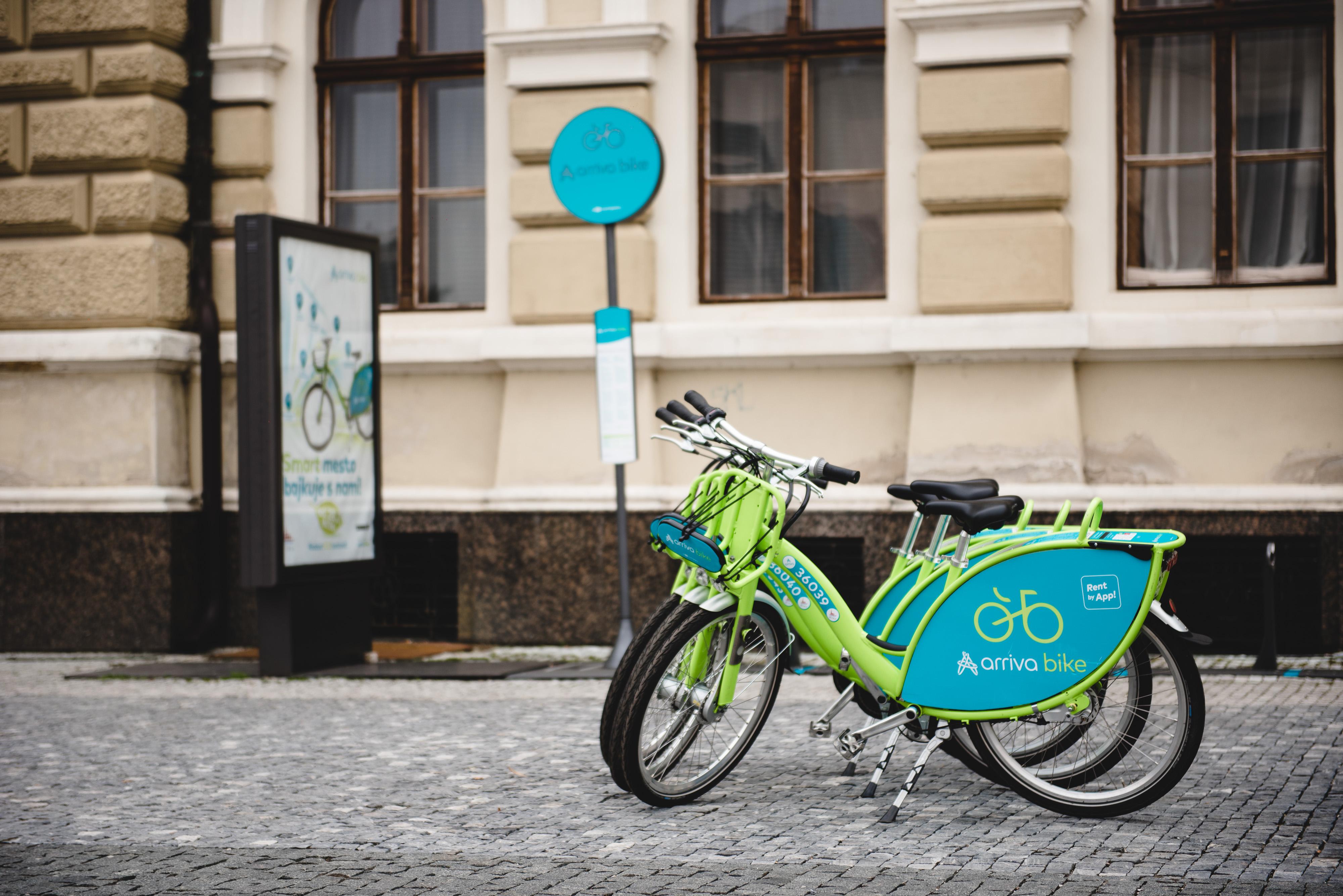 Zdieľané bicykle arriva bike môžu Nitrania - Kam v meste  8088dc942b9