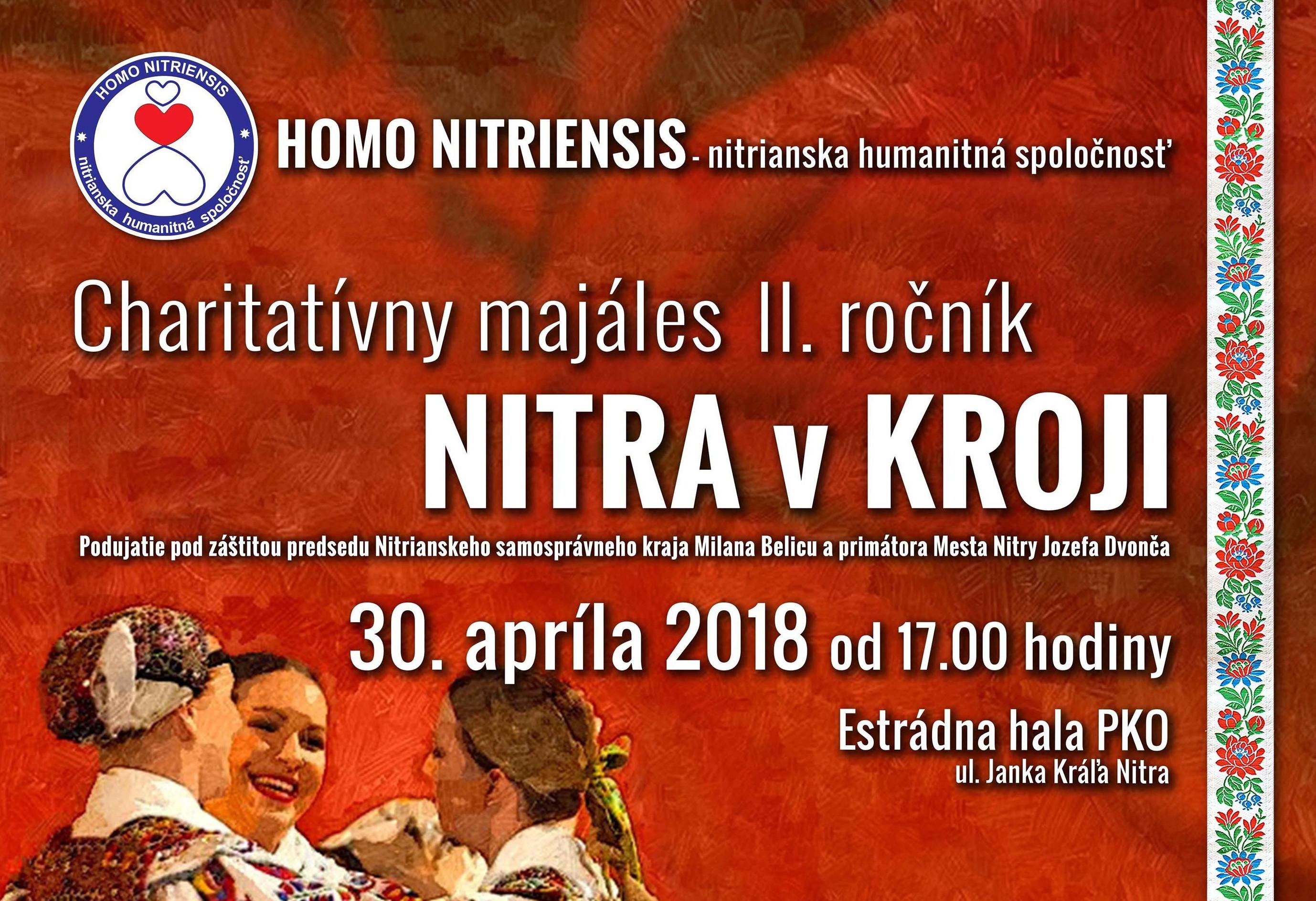 f4b8d51d18f1 Charitatívny Majáles NITRA v KROJI 2018 - Kam v meste