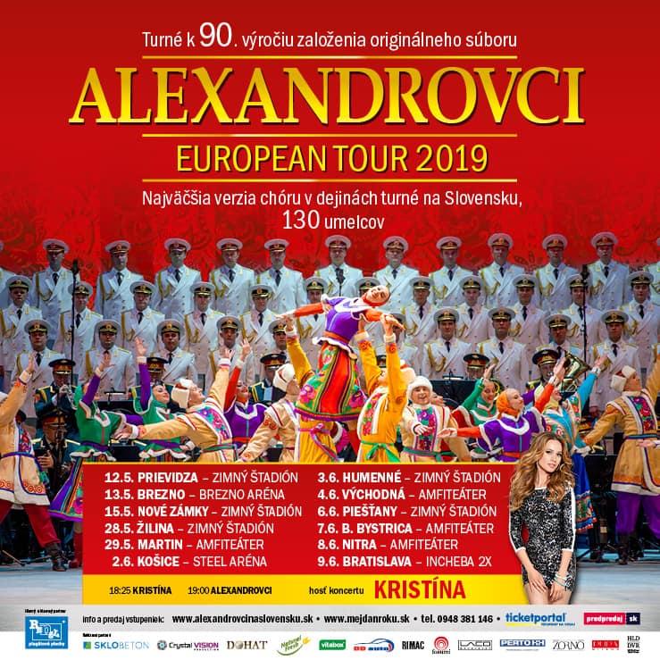 e7eecfd8ad2b9 Alexandrovci prídu v rámci svojho turné na - Kam v meste | moja Nitra